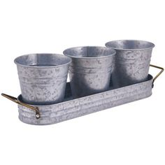 Better Homes Amp Gardens Galvanized Steel Square Beverage