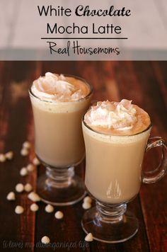 White Chocolate Mocha Latte | Real Housemoms