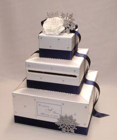 Winter Wonderland  Snowflakes theme Wedding by ExoticWeddingBoxes
