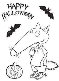 loup halloween
