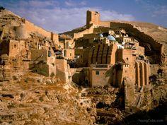 Mar Saba Monastery, Juda Desert, Israel