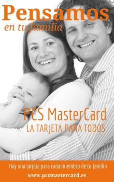 Disfruta de todos los momentos en familia.  Entra a www.pcsmastercard.es e infórmate sobre la tarjeta prepago que no necesita de cuenta bancaria ni documentación.