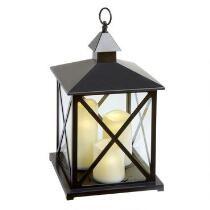3-Pillar LED Candle Lantern