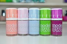 Models Own Spring HyperGel nail polishes