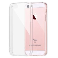 Iqd per apple iphone se caso della copertura del respingente assorbimento degli urti paraurti e anti-graffio trasparente posteriore per iphone 5 5 s se casi