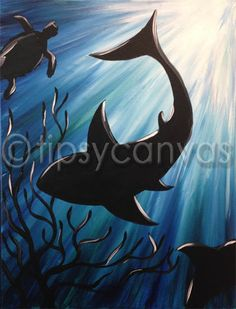 Under the sea canvas