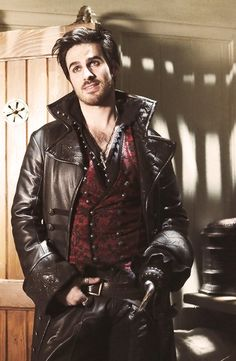 Colin O'Donoghue as Captain Hook/Killian Jones in Once Upon A Time S02E22 | And Straight On Till Morning.