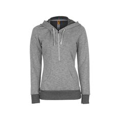 Lucy Sexy Sweat 1/2-Zip Pullover Hoodie Women's ❤ liked on Polyvore featuring tops, hoodies, hooded pullover, hooded sweatshirt, half zip hoodie, pullover hoodies and pullover hoodie