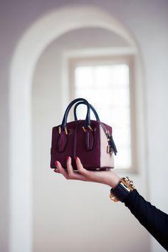 Tod's bag. I love this mini purse trend!