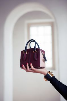 Tod's bag. I love this mini purse trend!