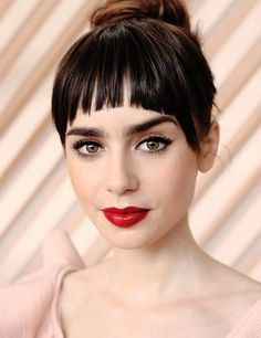 Lily Collins doing press at the 70th Annual Cannes Film Festival for Okja in Cannes, France