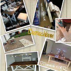 DIY Esstisch Cabinet, Storage, Furniture, Home Decor, Dinner Table, Simple, Essen, Dekoration, Clothes Stand