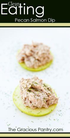 Clean Eating Pecan Salmon Dip Recipe