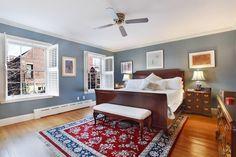 Brooklyn brownstone interior - bedroom