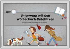 Ideenreise: Wörterbuch-Detektive (Übungskartei)