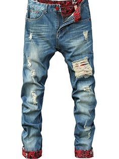 Minibee Men's 2016 New Denim Hole Long Jean Pants Blue 1 ... https://www.amazon.com/dp/B01HRAQTIC/ref=cm_sw_r_pi_dp_DilDxbC4ZJB1T