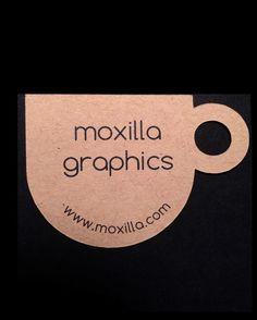 100 CUSTOM printed die cut cup tags / business cards by moxierings, $49.50