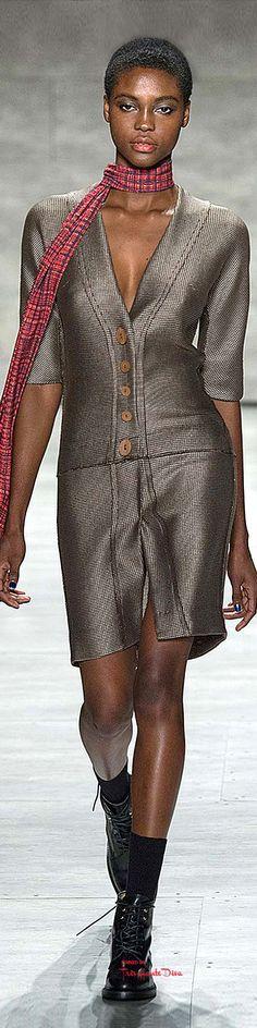 New York Fashion Week.          Costello Tagliapietra.           Fall/Winter 2015-16.          Ready-To-Wear.