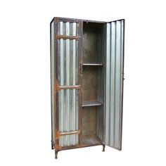 Corrugated store cabinet / Urban Vintage from Andy Thornton retail display fittings