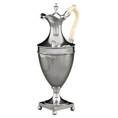 Hester Bateman Silver Coffee Pot