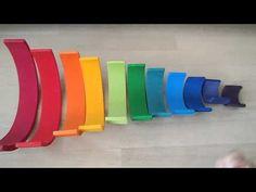 houten regenboog als muziekinstrument