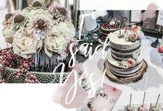 Hochzeitsplanung Tischdeko Hochzeitstorte Wedding cake