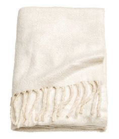 Herringbone Throw | White | Home | H&M US