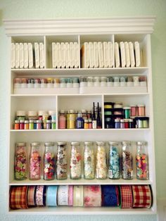 craft room wall unit
