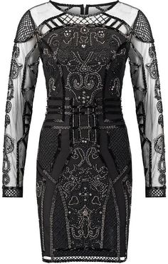 Miss Selfridge Joan Cocktail Dress (£100) | Perfect Flapper Dresses to Suit All Body Shapes | POPSUGAR Fashion UK