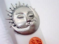 vintage sun moon - Google Search