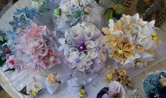 Origami Pastel Wedding Package Customized. $200.00, via Etsy.