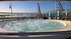 We were lucky enough to be invited down to Southampton to stay on-board P&O Cruises brand new flagship #Britannia, on the day of her naming ceremony carried out by Her Majesty, Queen Elizabeth II. 10/03/15. Here's a taste of what we got up to...