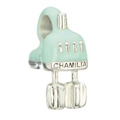 Chamilia Sterling Silver Light Green Beat it Charm #chamilia #mixer #baking #cooking #mint