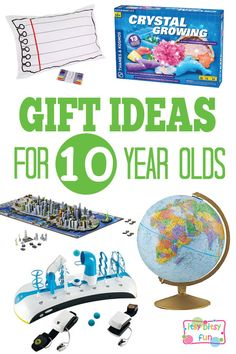 Gifts for 10 Year Olds - Christmas and Birthday Ideas