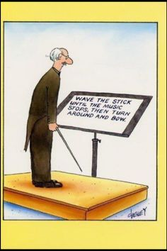 The mystery of what conductors really keep on their stands! The score is a lie!