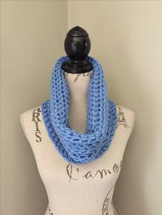 Crochet cowl CrownKnits.etsy.com