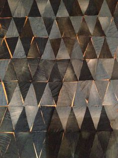 Frau Anni: Photo - these are triangles of denim - inspiration for a tile pattern for me