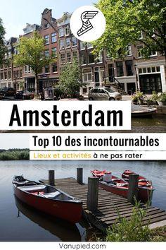 Top 10 d'Amsterdam, les meilleures activités et lieux incontournables Guide Amsterdam, Old Town, Black Picture, Netherlands