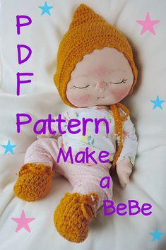 PDF Pattern How to Make a Newborn BeBe Baby Doll by by casienipper