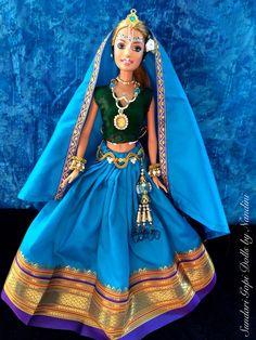 Sundari Gopi Doll OOAK Doll Altered barbie doll by GopiDesigns