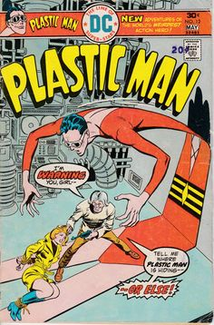 Plastic Man 12  April 1976 Issue  DC Comics  Grade by ViewObscura
