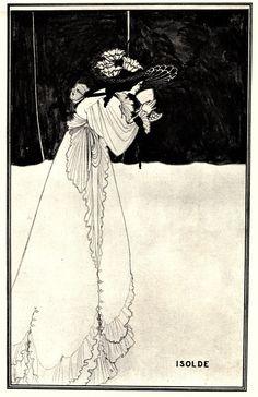 Isolde - Aubrey Beardsley