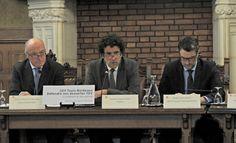 """Ce jeudi matin à Libourne, l'ensemble des collectivités a formé une """"coalition des mécontents"""" face à la réduction du nombre de dessertes pour la future LGV."""