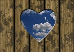 Táblák, Ajtó, Felhők, Szív, Szerelem