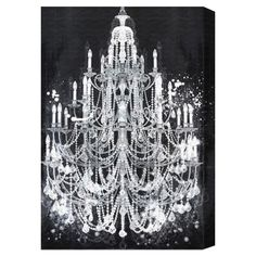 Oliver Gal & Co. Privee Diamonds Canvas Print I - Wall of Fame on Joss & Main