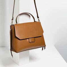 Stylish Handbags, Purses And Handbags, Streetstyle Blogger, Leather Shoulder Bag, Leather Bag, Sacs Design, Zara Mini, Latest Bags, City Bag