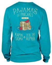Zeta Tau Alpha Pancake T-shirt