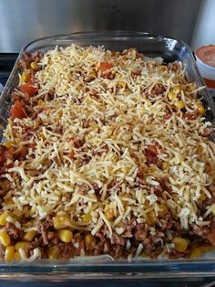 One Dish Dinners, Nachos, Stew, Dinner Recipes, Wraps, Food And Drink, Pasta, Dishes, Tablewares