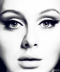 Adele. Serious girl crush. I just love her sooo much!