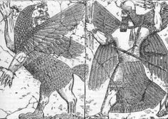 Carl G Jung's Archetypes. Psychoanalysis of Myth: Sigmund Freud's and Carl G. Jung's theories on the origin of gods, religion, and their myths. Aliens And Ufos, Ancient Aliens, Ancient Art, Totems, Jungian Archetypes, Bird People, Creation Myth, Sea Serpent, Ancient Mesopotamia